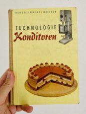 Fachbuch Hensel-Perske-Walther Technologie Konditoren DDR-Buch