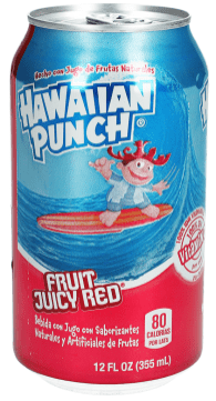 Hawaiian Punch Fruit Juicy Red 355ML Getränkedose