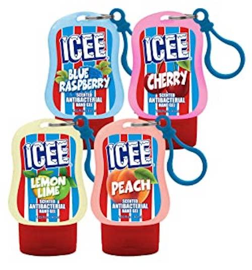 Icee Hand Sanitizer Blue Raspbery-Cherry-Lemon lime-Peach