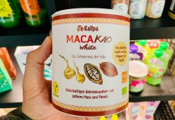 Kallpa Macakao White Kakaohaltiges Getränkepulver mit gelbem Maca und Panela