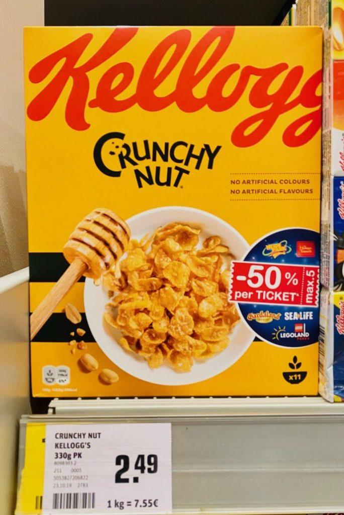 Kellogg's Crunchy Nut Cereals 330G
