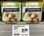 Keunecke Königsberger Klopse mit Kartoffeln+Kapern in der Dose 600g