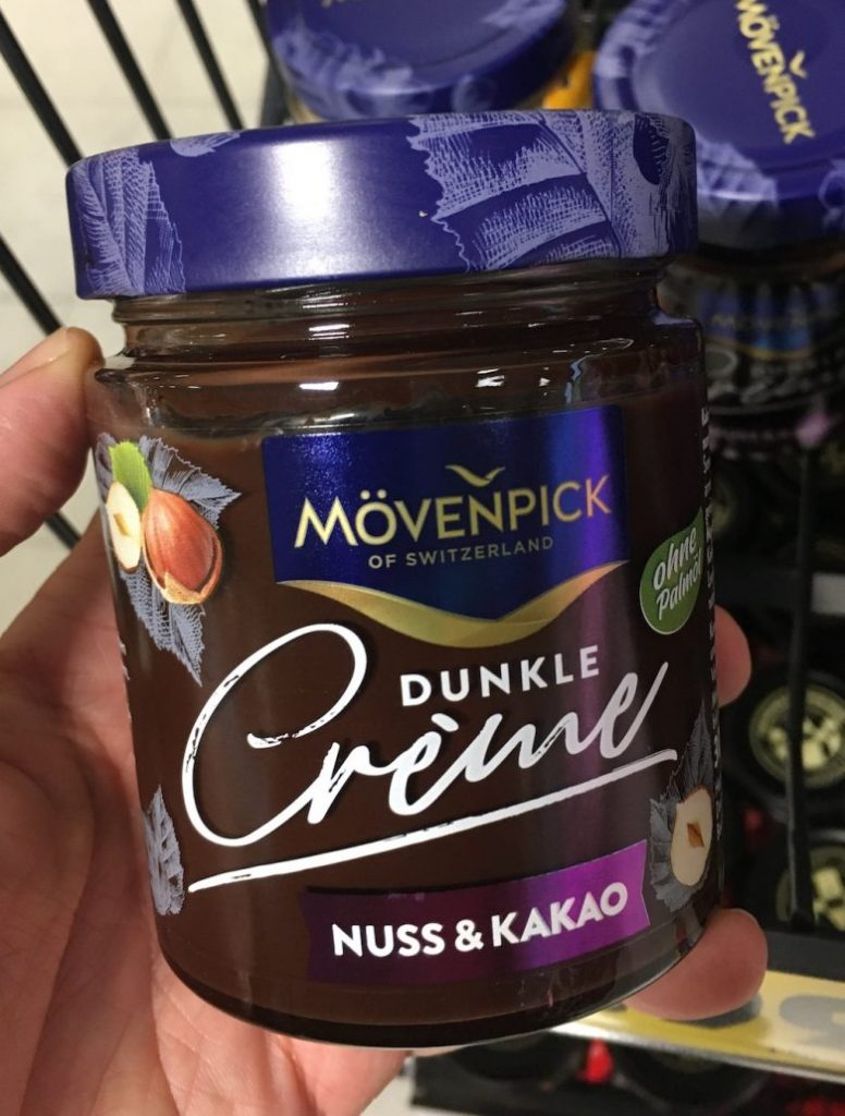 Mövenpick Dunkle Cème Nuss+Kakao