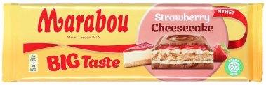 Marabou Strawberry-Cheesecake 300g Kuchengeschmack
