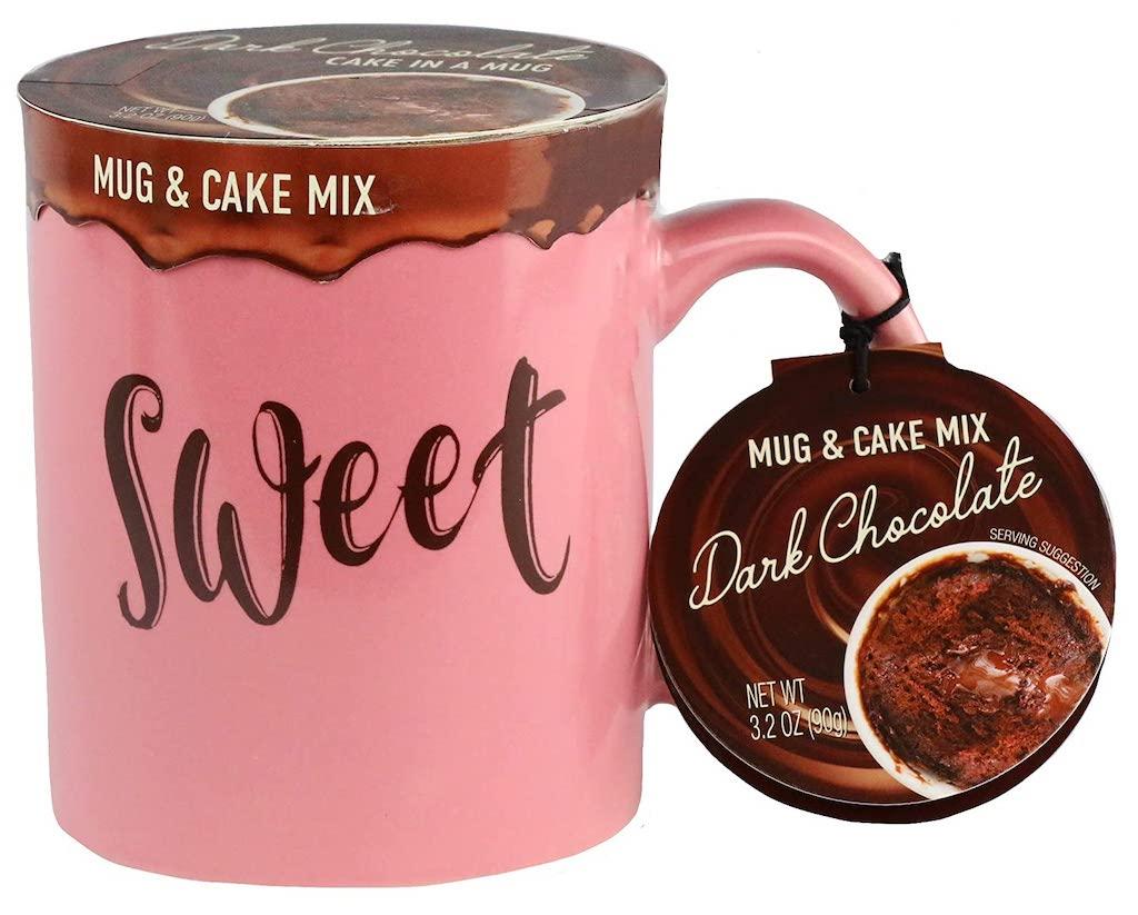 Mug+Cake Mix Sweet Dark Chocolate 90G