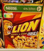 Nestlé Lion Karamell+Schoko Cereals Nutri-Score C