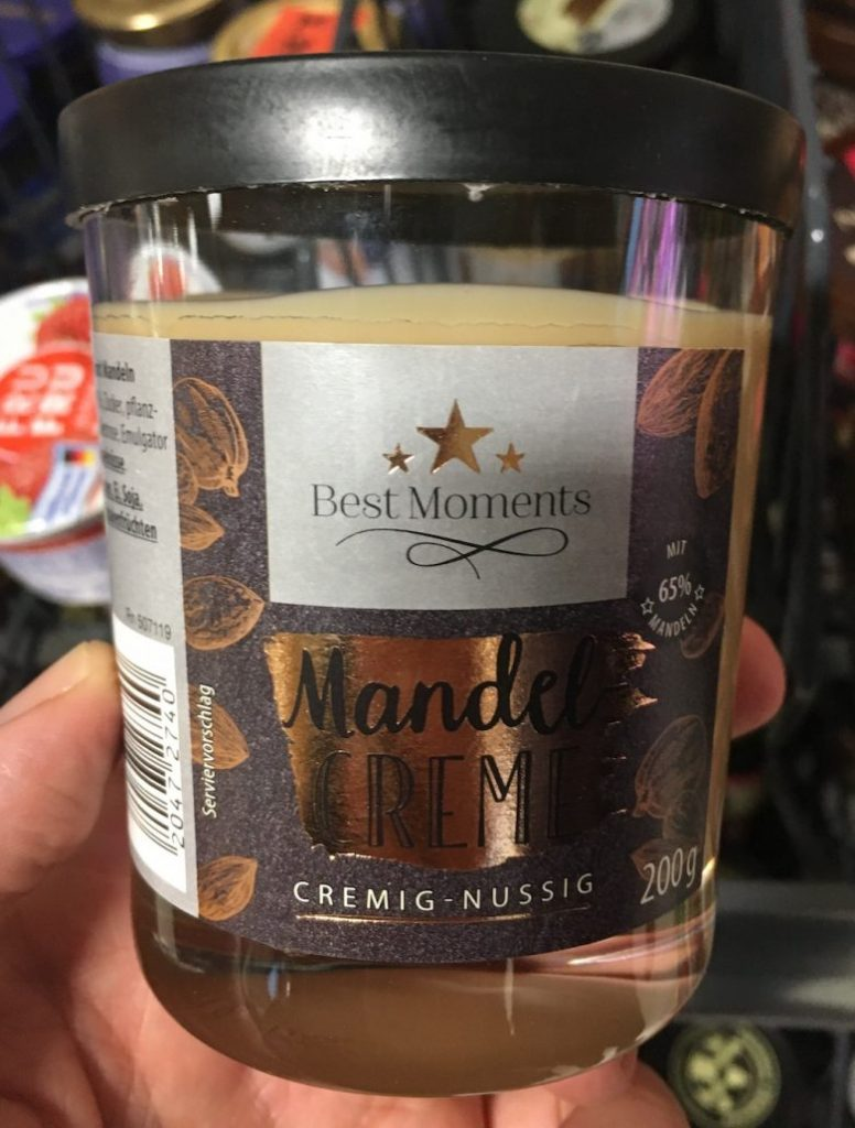 Penny Best Moments Mandelcreme 200G