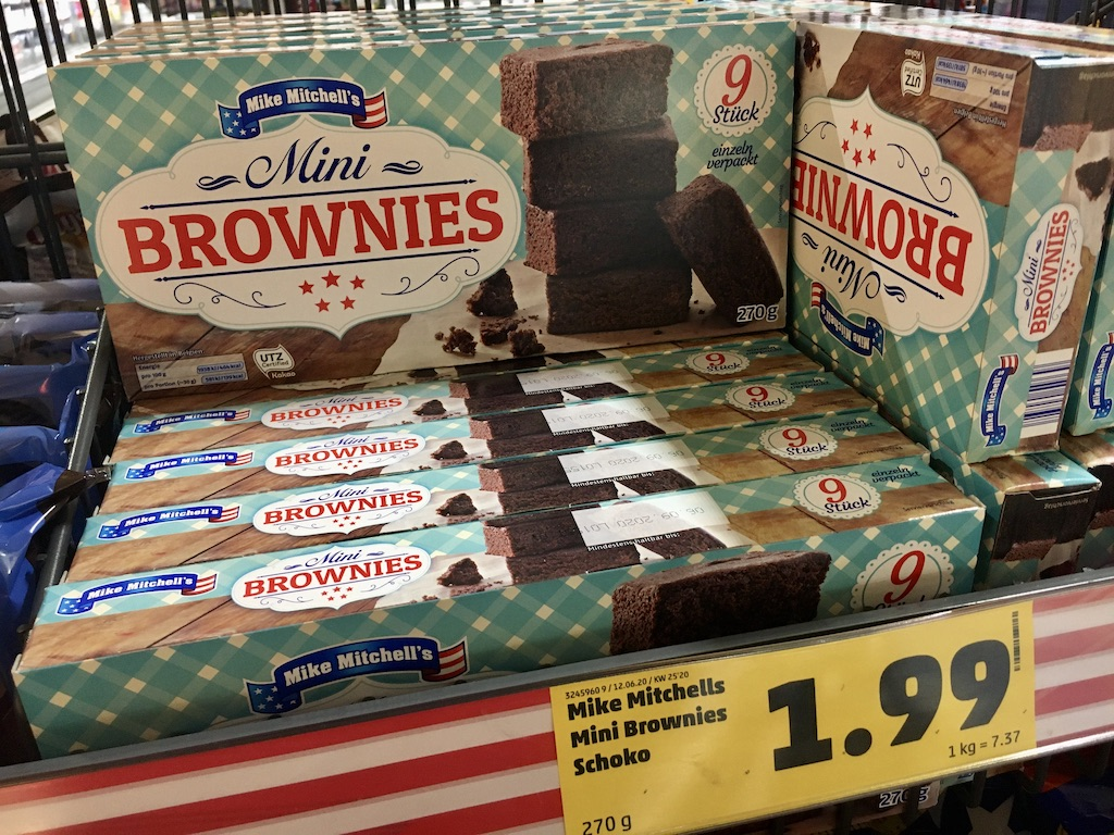 Penny Mike Mitchell's Mini Brownies Schoko 270G