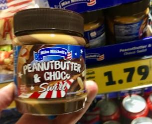 Penny Mike Mitchell's Peanututter+Choco Swirl Brotaufstrich