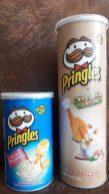 Pringlesdosen aus der Sammlung Irene aus Hong Kong Smokey Potato Salad und Mushroom Soup
