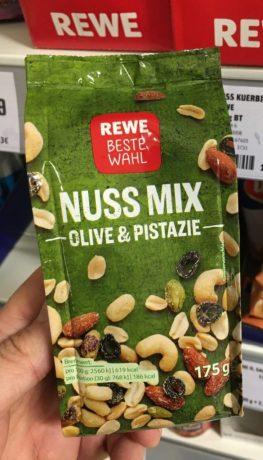 REWE Beste Wahl Nuss Mix Olive+Pistazie