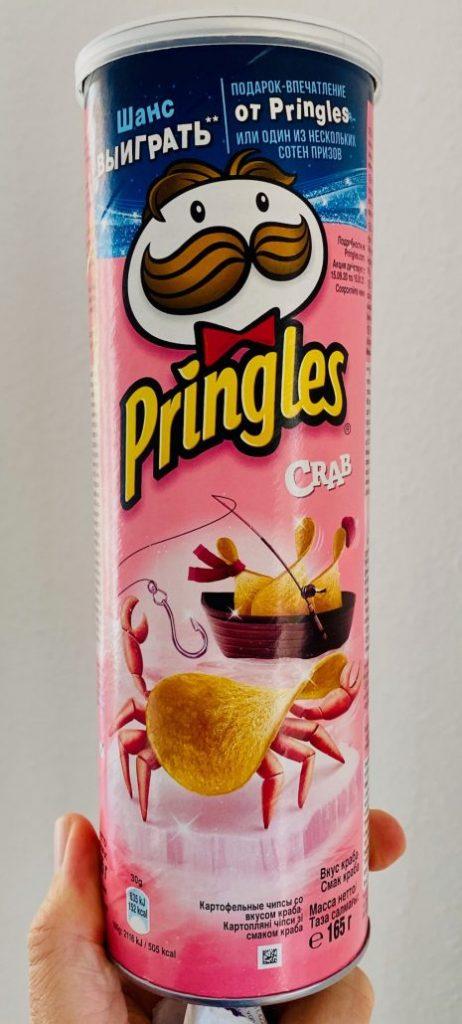 Russische Pringles Crab 165G