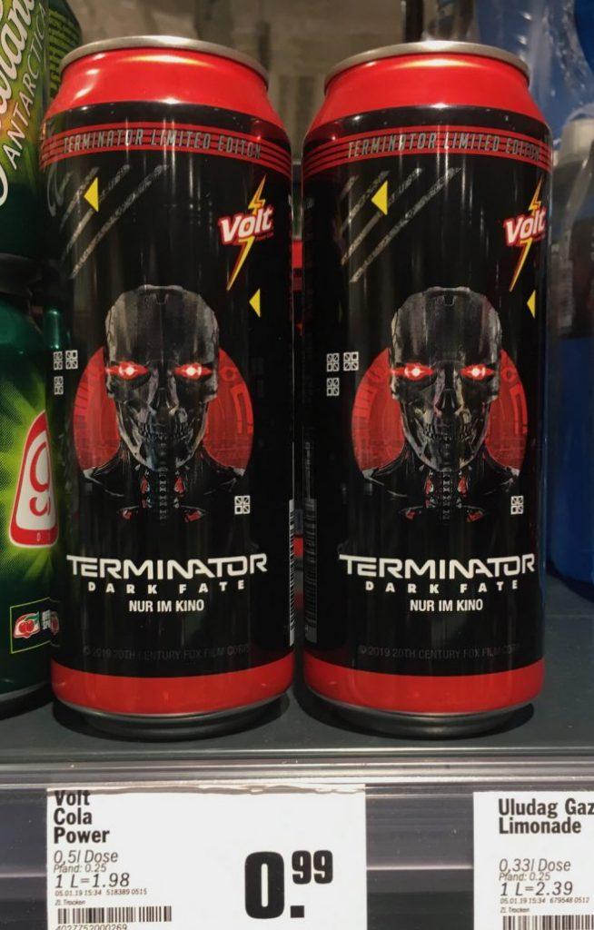 Volt Cola Terminator Dark Fate