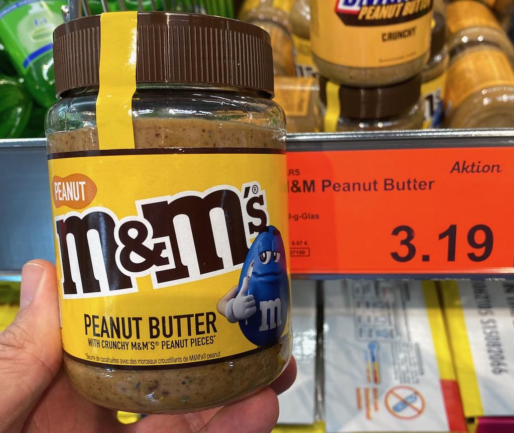 Aldi Mars M+M Peanut Butter