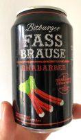 Bitburger Fassbrause Rhabarber 1% Rhabarber