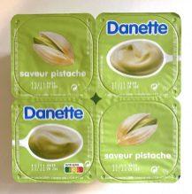 Danette Pistazienpudding Frankreich Nutri-Score