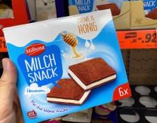 Lidl Milbona Milchsnack Creme+Honig 6er Milchschnitte