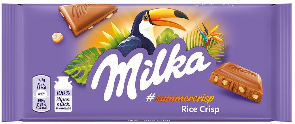 Milka Rice Crisp Summercrisps 100g