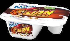 Nestlé Joghurt mit Ecke Lion