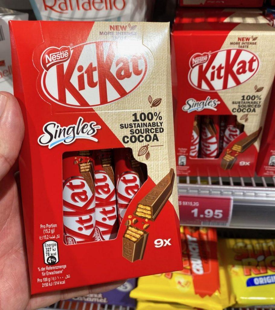 Nestlé KitKat Singles 9er
