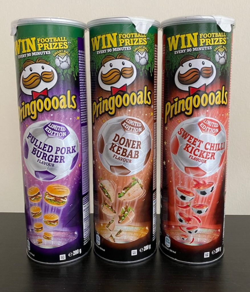 Pringles Pringoooals Pulled Pork Burger-Doner Kebab-Sweet Chilli Kicker 200G