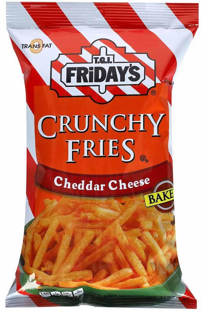 TGI Fridays Crunchy Fries Cheddar Cheese 8g