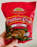 Tropical Gourmet Plantain Chips Spicy Würzige Bananenchips 85G