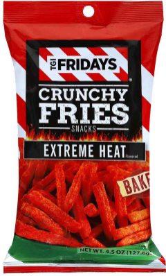 tgi fridays crunchy- fries extreme heat 128G