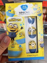 BackFamily Minions aus feinem Zuckerguss Dekofiguren