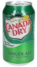 Canada Dry Ginger Ale Getränkedose