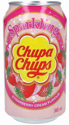 Chupa Chups Strawberry Cream 345ml