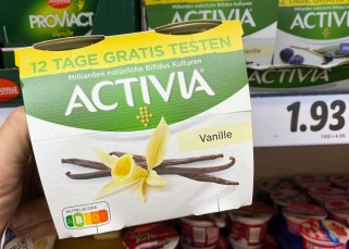 Danone Activia Vanille Nutri-Score