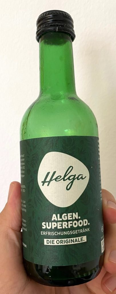 Helga Algen Superfood Drink Erfrischungsgetränk