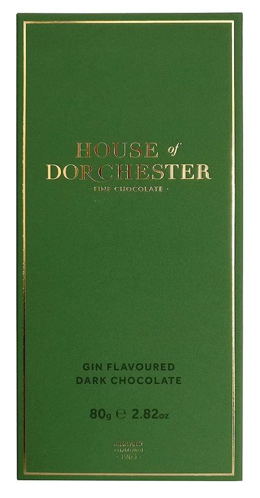 House of Dorchester Gin Flavoured Dark Chocolate 80g