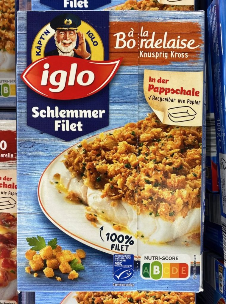 Iglo Schlemmerfilet à la Bordelaise Knusprig Nutri-Score