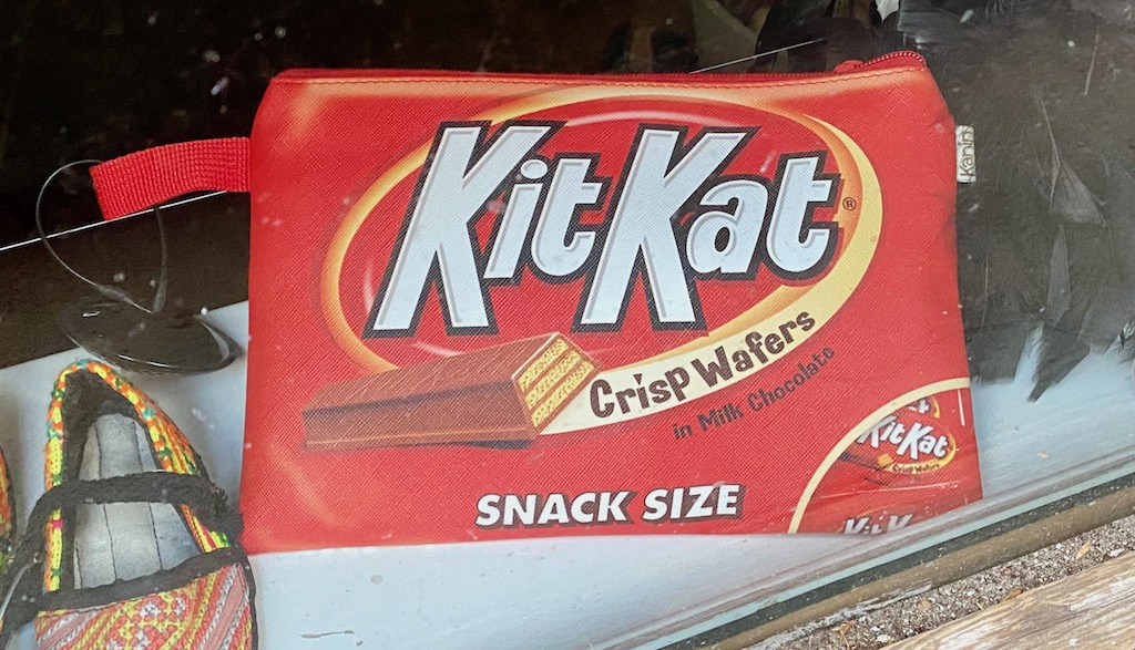KitKat als Tasche oder Portemonnaie