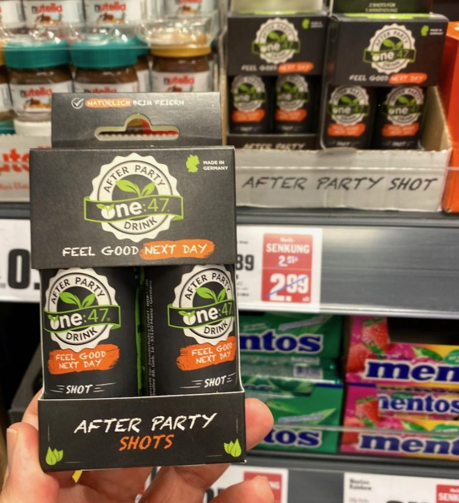 Lidl After Party Shots Feel Good Next Day