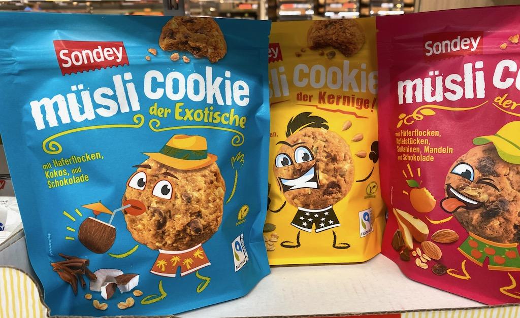Lidl Sondey Müsli Cookie Kokos-Kerne-Früchte