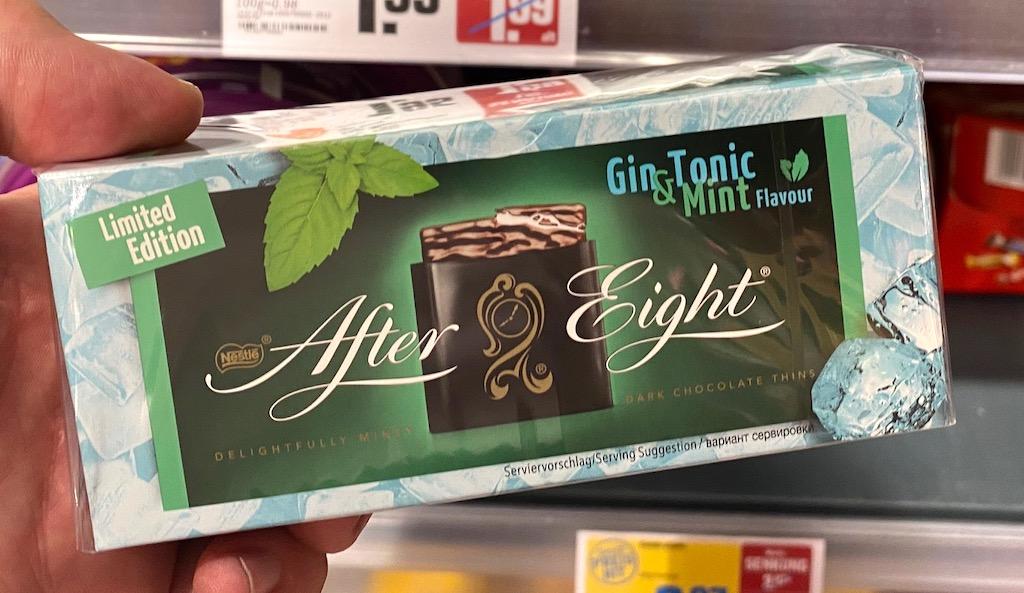 Nestlé After Eight Gin Tonic
