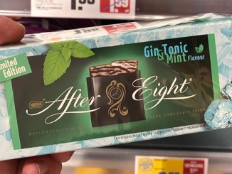 Nestlé After Eight Gin Tonic