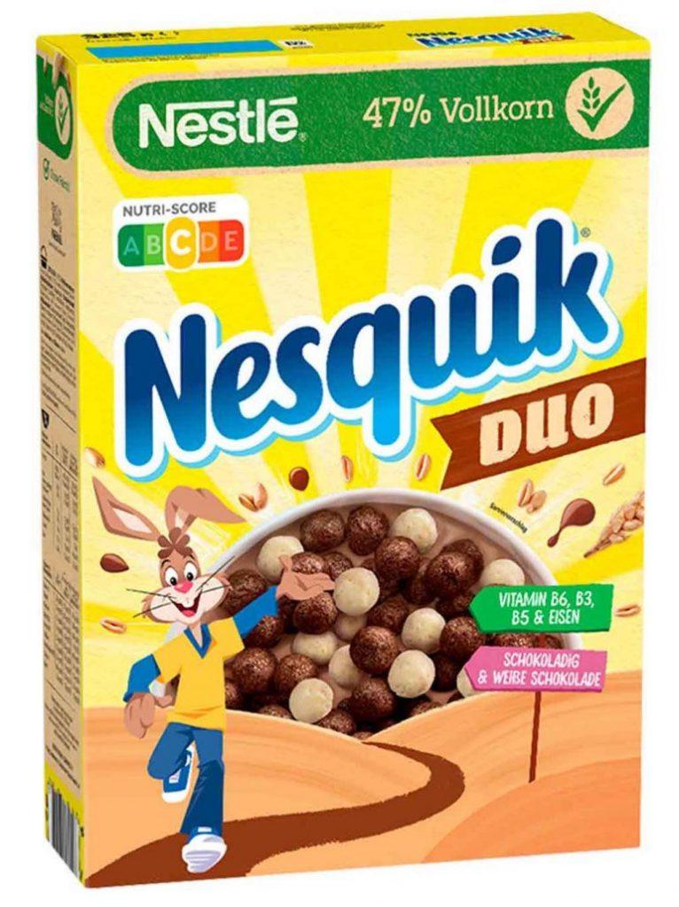 Nestlé Nesquik Duo Nutri-Score 325g