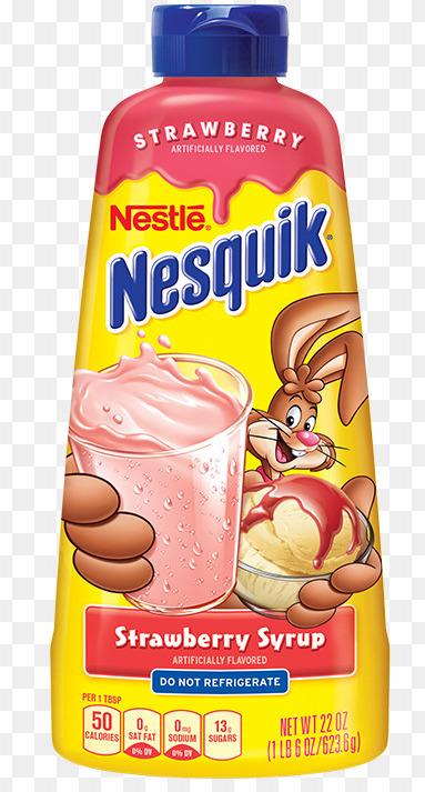Nestlé Nesquik Erdbeer-Sirup