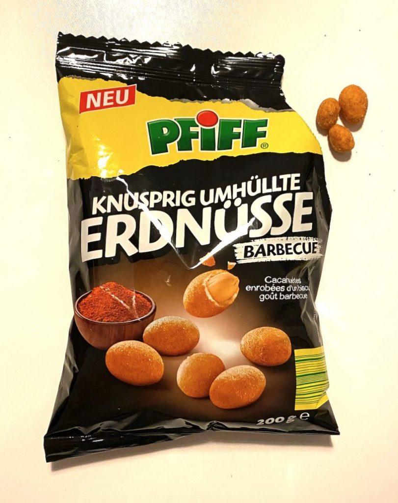 Pfiff Knusprig Umhüllte Erdnüsse Barbecue 200G