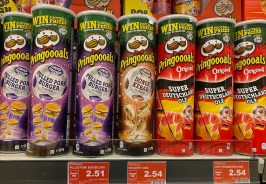 Pringles Pringoooals Pulled Pork Burger-Doner Kebab-Original Super Deutschland Olé