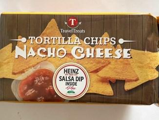 Travel Treats Tortilla Chips Nacho Cheese mit Heinz-Salsa-Dip