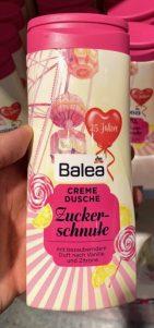 dm Balea Cremedusche Zuckerschnute mit Duft nach Vanille und Zitrone