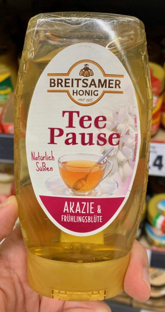 Breitsamer Honig Tee-Pause Akazie und Frühlingsblüte