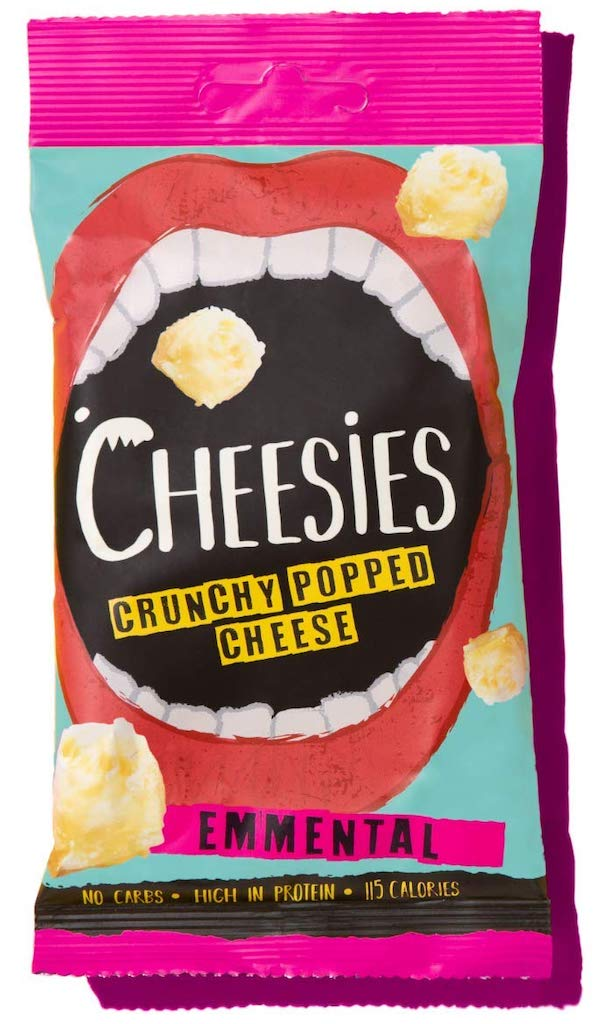 Cheesies Crunchy Popped Cheese Emmental