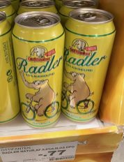 EDEKA Ottifanten Radler ohne Alkohol