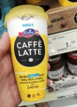 Emmi Caffé Latte Vanilla Kunststoffbecher to go